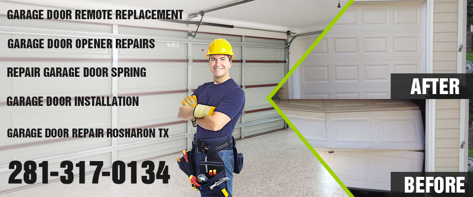 Garage Door Repair Rosharon TX banner